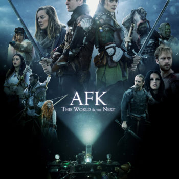 AFK this world and the next-poster