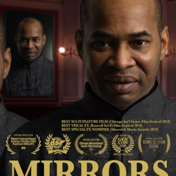 Mirrors Poster Vertical Format Compressed Size