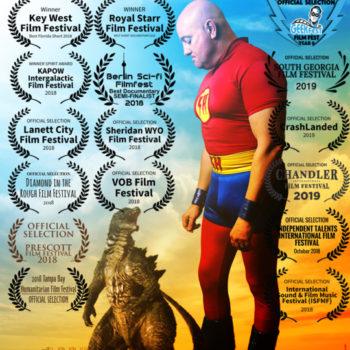 Portrait of a Superhero-poster