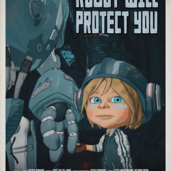 Robot will Protect you-poster