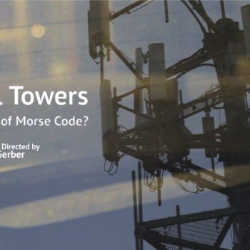do cell towers dream of morse code - poster