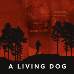 A Living Dog-poster
