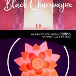 Black Champagne-poster