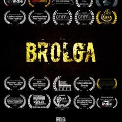 Brolga-poster