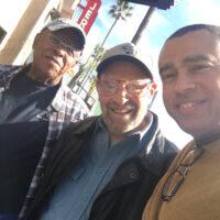 Alan Levi with Dad
